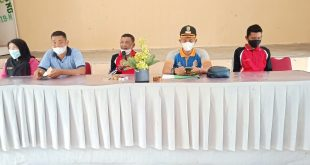 Kades bersama BPD Sambut Tim Penilai Kecamatan